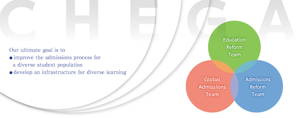 Our ultimate goal is to ● improve the admissions process for    a diverse student population ● develop an infrastructure for diverse learning ?>